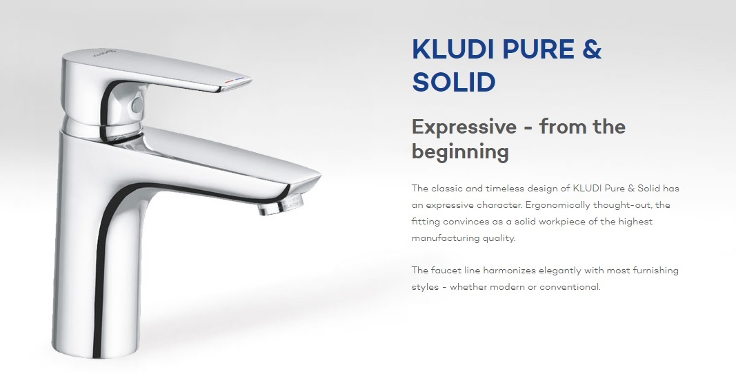 Kludi Pure & Solid